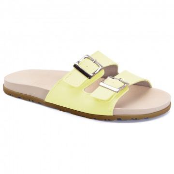 Chinelo Infantil Klin Slide 013 Amarelo Candy