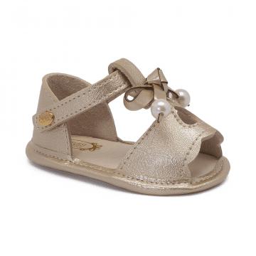 Sandália Bebê Klin 539 Dourado