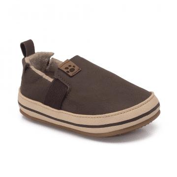 Sapato Infantil Klin Algodão Doce 168 Café/Areia