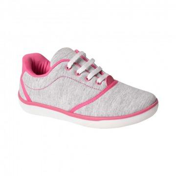 Sapato Infantil Klin Flyer Street 035 Cinza/Pink