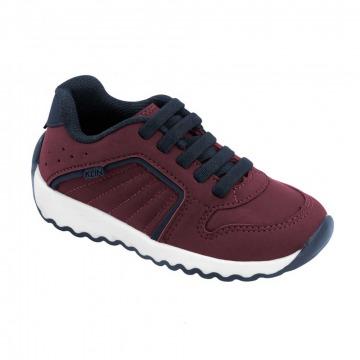 Sapato Infantil Klin Outdoor 125 Vinho/Marinho