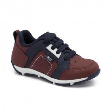 Sapato Infantil Klin Outdoor 141 Vermelho/Marinho