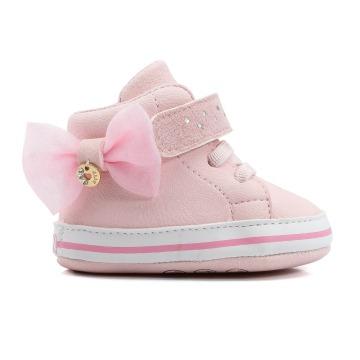 Tênis Bebê Klin 510 Rosa Claro