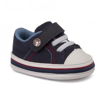 Tênis Bebê Klin 556 Marinho/Azul Jeans