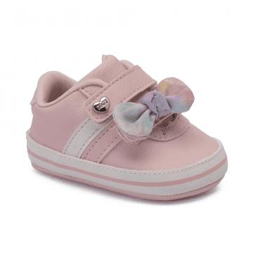 Tênis Bebê Klin 559 Rosa Claro