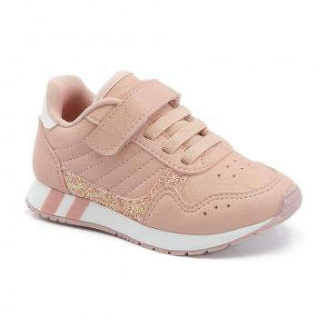 Tênis Infantil klin Baby Walk 068 Rose
