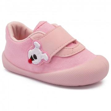Tênis Infantil Klin Comfort Plus 010 Rosa Bebê