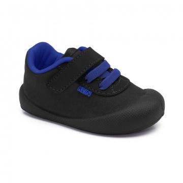 Tênis Infantil Klin Comfort Plus 012 Preto/Royal