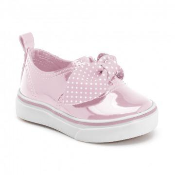 Tênis Infantil Klin Mini Style 023 Marinho/Poa Vermelho