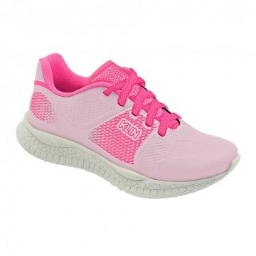 Tênis Infantil Klin Step Flex 2.0 018 Preto/Rosa
